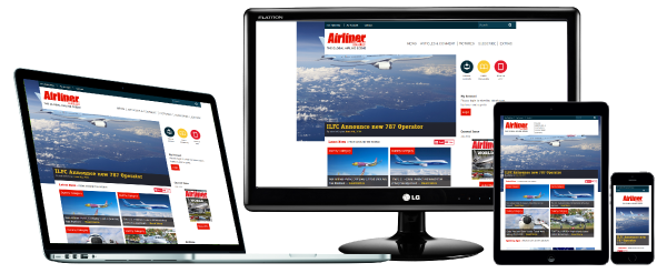 Airliner World available on these devices