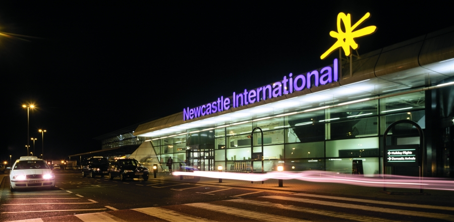 (Photo Newcastle Airport)