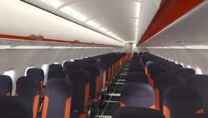 The Space-Flex 186-seat configured Airbus A320 is entering service with easyJet. (Photo easyJet)