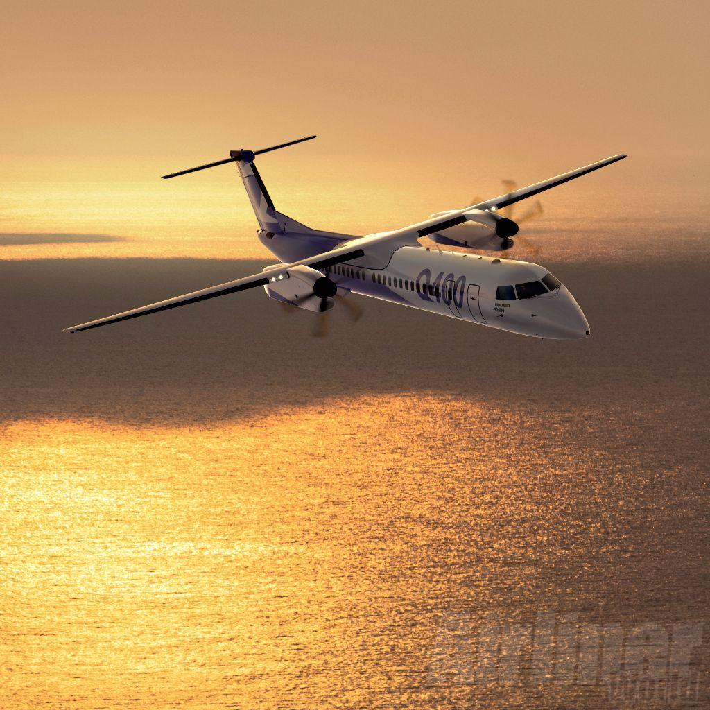 The Government of Tanzania has purchased two Bombardier Q400s from the Canadian manufacturer.  (Bombardier)