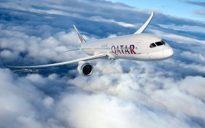 Qatar Airways signed a firm order for 30 787-9 Dreamliners. (Boeing)