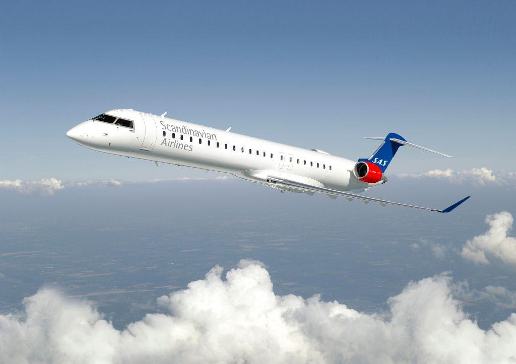 Første nye CRJ900 klar til SASflyvninger  CHECKINdk